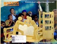 """S002 подставка для ручек """"боксеры"""", VGA (Wooden Toys)"""