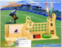 "S007 подставка для ручек ""теннисист"", VGA (Wooden Toys)"