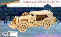 """Сборная модель """"форд"""". арт. р014, VGA (Wooden Toys)"""