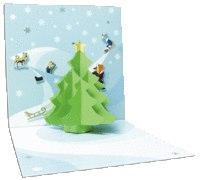 Набор для изготовления открытки «зимние горки», Клевер