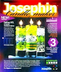 Гелевые свечи. набор №2, Josephine / Эльфмаркет