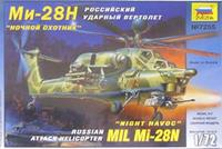 """Российский ударный вертолет ми-28н """"ночной охотник"""", Звезда"""