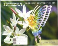 """Сборная модель """"бабочка большая"""". арт. ec004, VGA (Wooden Toys)"""