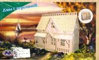 G-dh003 дом с верандой (мал), VGA (Wooden Toys)