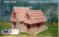 Рн007 домик (цветной), VGA (Wooden Toys)