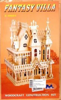 "Вилла ""королевская фантазия"" малая (g-dh004), VGA (Wooden Toys)"