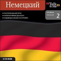 Cd-rom. talk to me. немецкий. уровень 2 (количество cd дисков: 2), Новый диск