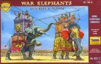 """Сборная модель """"боевые слоны"""", Звезда"""