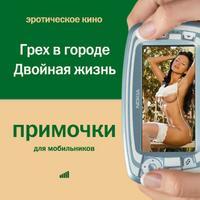 Cd-rom. примочки для мобильников. видео. эротическое кино. грех в городе. двойная жизнь, ИДДК