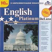 Cd-rom. english platinum deluxe, 1С