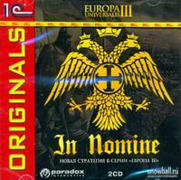Cd-rom. europa universalis iii. in nomine (количество cd дисков: 2), 1С
