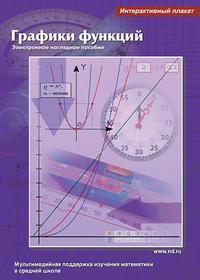 Cd-rom. интерактивный плакат. графики функций. программно-методический комплекс, Новый диск