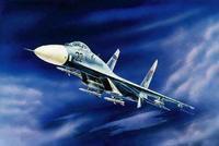 """Модель самолета """"су-27"""", Звезда"""