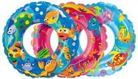 """Круг надувной """"морской мир"""", с цветным рисунком (диаметр 61 см), Intex (Интекс)"""