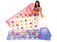 Матрас надувной для воды, прозрачный (188х71 см), Intex (Интекс)
