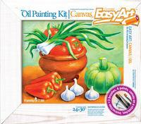 "Набор для живописи масляными красками. набор №2 ""дары природы"", EasyArt / Эльфмаркет"