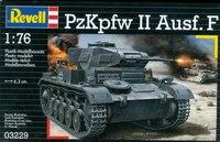 Сборная модель. танк panzer ii ausf. f, 1:76, Revell (Ревелл)