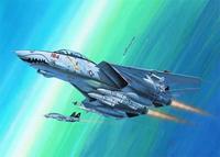 Сборная модель. истребитель f-14d super tomcat, 1/144, Revell (Ревелл)