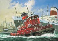 Сборная модель. портовый буксир harbour tug boat, Revell (Ревелл)
