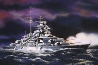 Сборная модель. линейный корабль бисмарк, Revell (Ревелл)