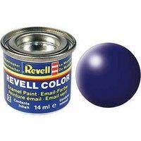 Краска синяя люфтганза рал 5013, шелково-матовая, Revell (Ревелл)