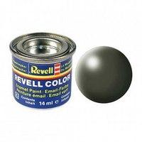 Краска оливково-зеленая рал 6003, шелково-матовая, Revell (Ревелл)