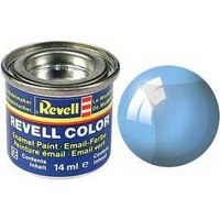 Краска голубая, прозрачная, Revell (Ревелл)