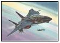 """Сборная модель. набор """"самолет f-14a tomcat """"black bunny"""", Revell (Ревелл)"""