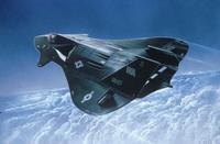Сборная модель. истребитель f-19 stealth fighter, 1:144, (3), Revell (Ревелл)