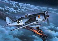 Сборная модель. самолет focke wulf fw 190 а-8/r-11, 1:72, (3), Revell (Ревелл)