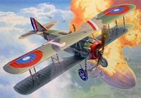 Сборная модель. истребитель spad xiii wwi fighter aircraft, 1:28, Revell (Ревелл)