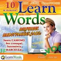 """Cd-rom. изучение иностранных слов: """"learn words"""". 10 языков, Равновесие"""