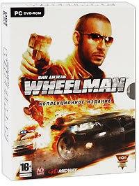 Dvd. вин дизель: wheelman. коллекционное издание (+ cd-rom; количество dvd дисков: 2), Новый диск