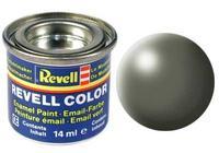 Краска камышово-зеленая рал 6013 шелково-матовая, Revell (Ревелл)