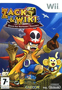 Dvd. zack & wiki: quest for barbaros' treasure (wii), Nintendo of Europe