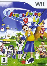 Dvd. super swing golf (wii), Rising Star Games