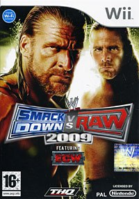 Dvd. wwe smackdown vs. raw 2009 (wii), THQ