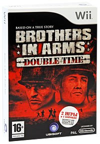 Dvd. brothers in arms: double time (wii), Ubisoft