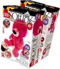 Набор для изготовления мягкой игрушки. лев розовый, Plush Heart / Эльфмаркет