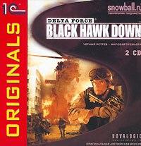 Cd-rom. отряд дельта. black hawk down (количество cd дисков: 2), 1С