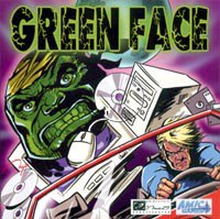 Cd-rom. green face, МедиаСервис