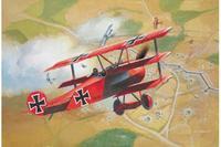 Самолет fokker dr. 1, Revell (Ревелл)