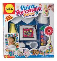 Набор фарфоровой посуды (6 штук) с красками, Alex
