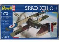"Самолет ""spad xiii c-1"". арт. 04192, Revell (Ревелл)"