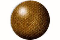 Аква-краска цвета латуни, металлик. арт. 36192, Revell (Ревелл)