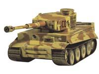 """Сборная модель из картона """"тяжелый танк pzkpfw vi tiger"""", Умная бумага"""
