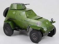 """Сборная модель из картона """"бронеавтомобиль ба-64б"""", Умная бумага"""
