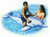 Дельфин надувной, 201х76 см, Intex (Интекс)