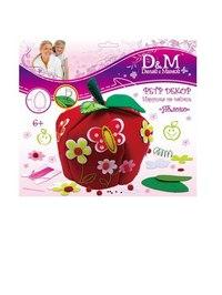 """Набор """"шьем игрушку на чайник: яблоко"""", D&M / Делай с Мамой"""