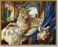 "Раскраска по номерам ""римский леопард"", Schipper"